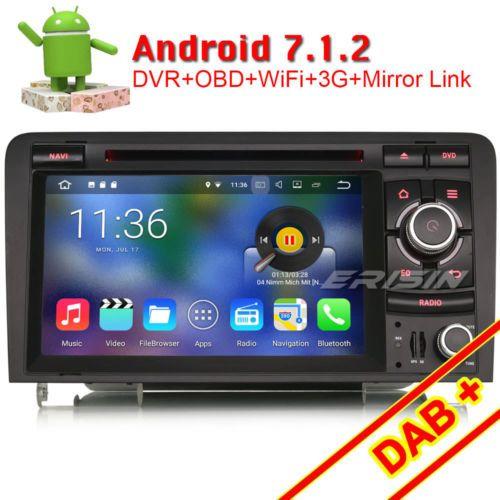 android 7.1.2 gps autoradio navi für audi a3 s3 rs3 rnse-pu