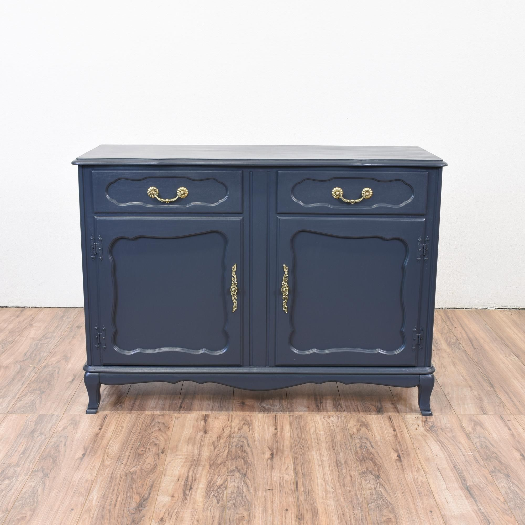 A gorgeous buffet for your dining room The piece features 2 drawers