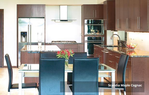 Scandia Maple Cognac   Custom cabinets, Custom cabinetry ...