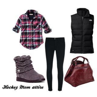 1bfc6d61131 Hockey mom | Hockey outfits | Hockey mom, Hockey outfits, Mom outfits