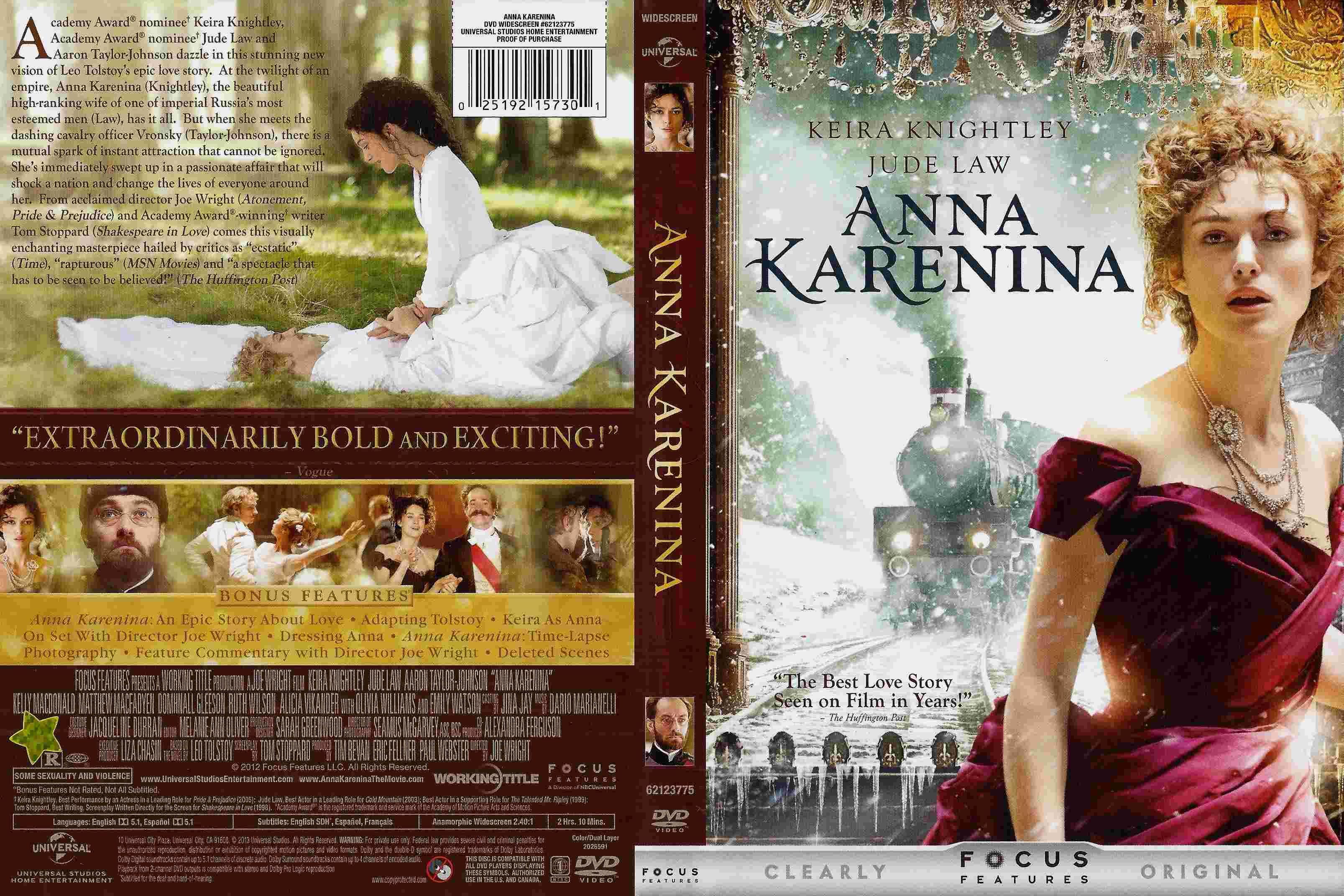 Anna Karenina Formato Dvd Anna Karenina Movie Best Love Stories Anna Karenina