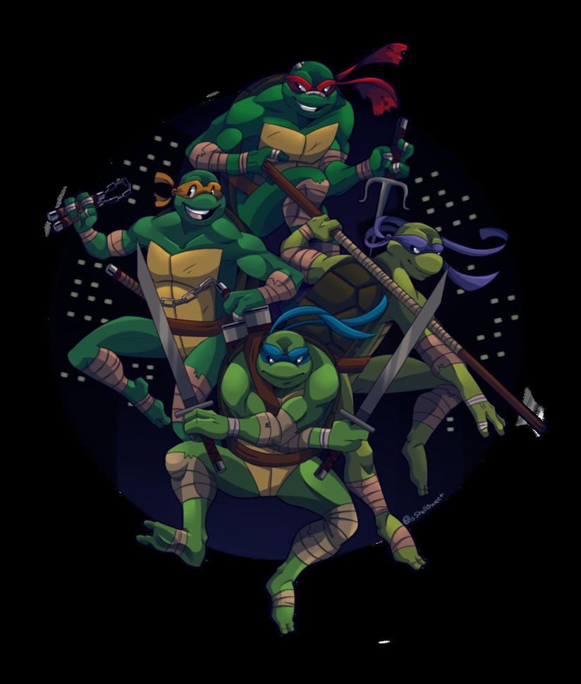 Turtle Power by Shellsweet on DeviantArt