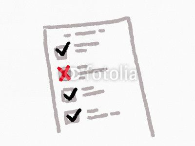 hand drawn risk assessment form survey quiz exam or questionnaire - it risk assessment template