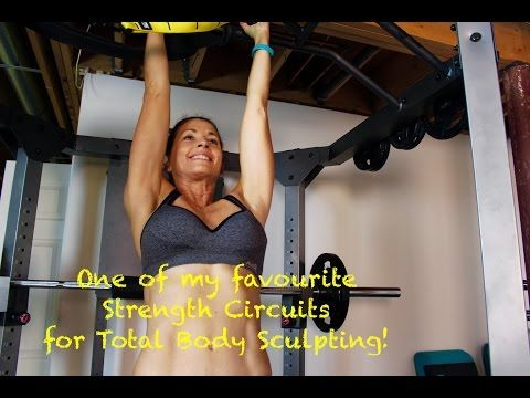 Awesome Total Body Strength Circuit - Get Lean and Ripped All Over! - YouTube