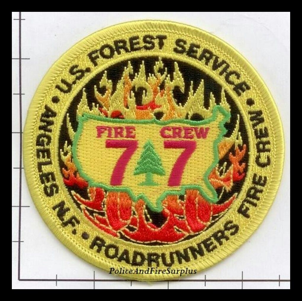 US FOREST SERVICE FIRE CREW PATCH
