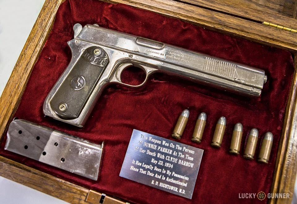 One of Bonnie Parker's guns.