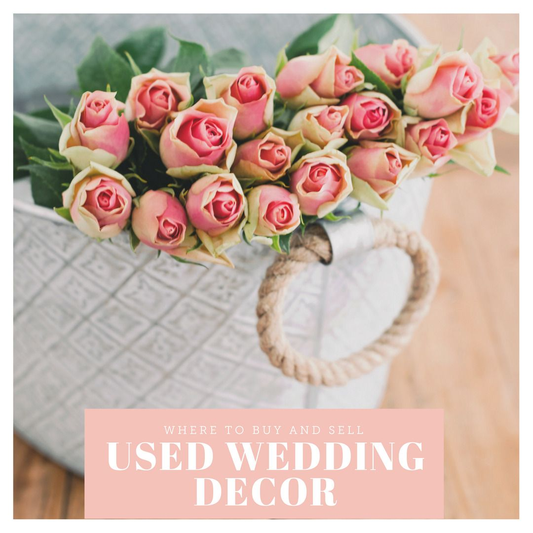 Where To Buy And Sell Used Wedding Decor Online Used Wedding Decor Wedding Decorations For Sale Upcycled Wedding Decorations