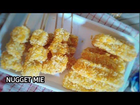 Resep Cara Membuat Nugget Mie Resep Untuk Jualan Resep Jajanan Anak Sekolah Youtube Resep Makanan Makanan Makanan Enak