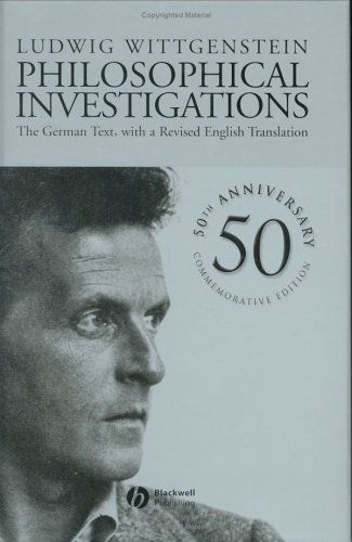 Ludwig Wittgenstein Philosophical Investigations Ludwig Wittgenstein Philosophy Of Mind Writing A Book