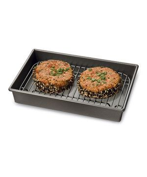 Look what I found on #zulily! Petite Roast & Broil Pan & Rack by Chicago Metallic Bakeware #zulilyfinds