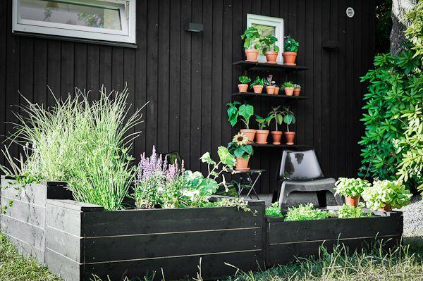 garden planters terracotta trädgård pallkragar terrakotta