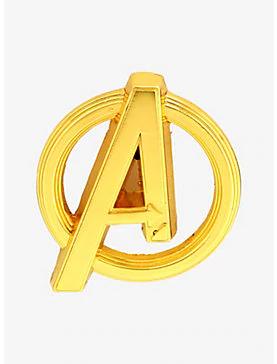 Marvel Avengers Infinity War Avengers Logo Pin Pin Logo Enamel Pins Avengers