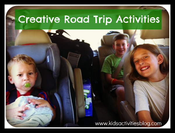 It isn't easy to sit in a car for long trips. Help your little one have some fun! Creative Road Trip Activities