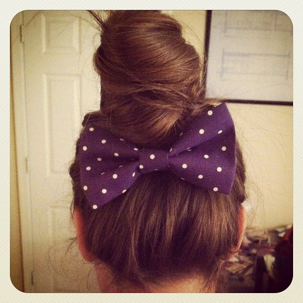 sew hair bow sewing