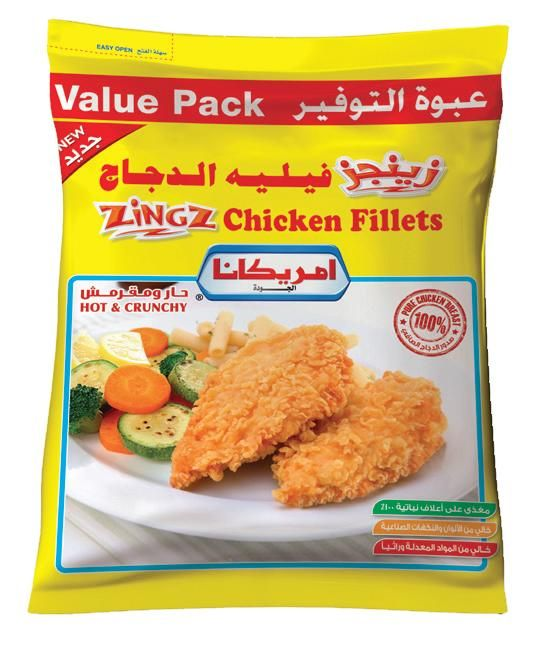 Americana Zingz Chicken Fillet 1 Kilo Fillet Chicken Food