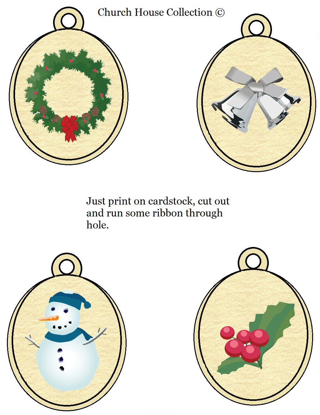 Printable Christmas Ornament Templates Printable Ornaments