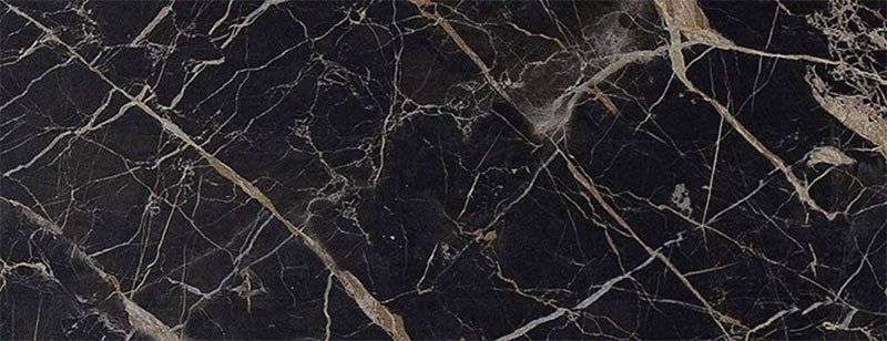 Marazzi Allmarble St Laurent schwarz glänzend 58 x 116