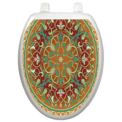Found it at Wayfair - Classic Medallion Toilet Seat Decal