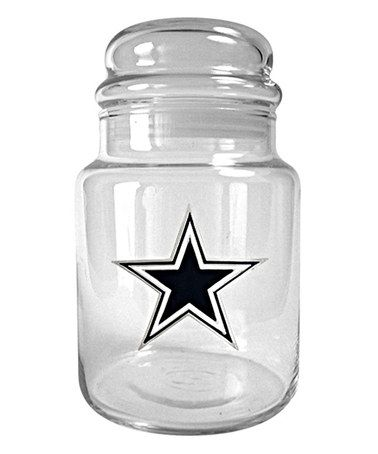 Another great find on #zulily! Dallas Cowboys Candy Jar #zulilyfinds