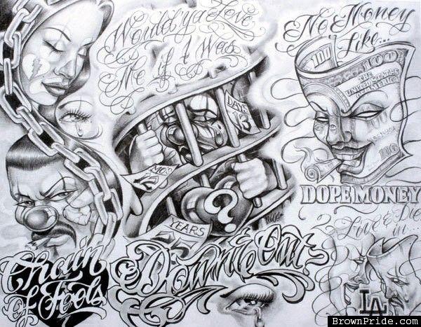 Boog Tattoo Boog Tattoo Chicano Tattoos Chicano Tattoo
