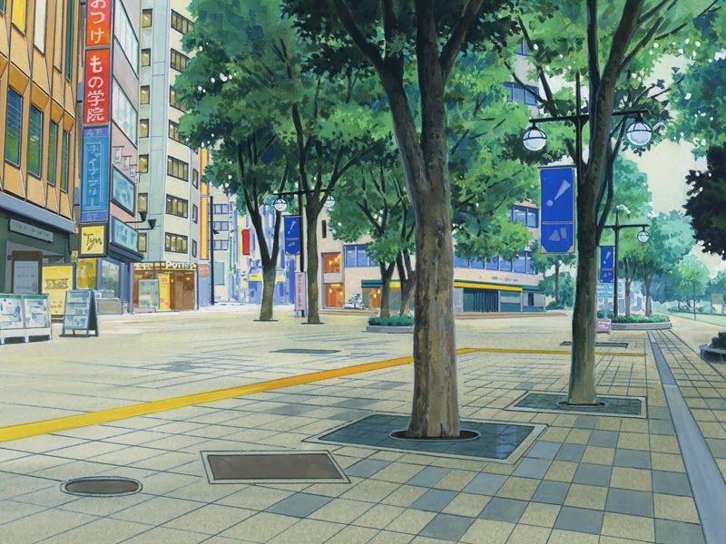 Anime Landscape AnimeCity AnimeScenery AnimeBackground
