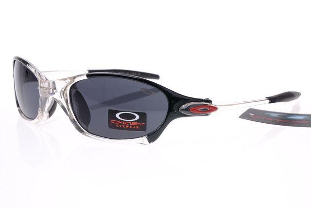 Oakley Gascan Sunglasses Black White Frame Black Lens 0489 [oakley 0489]    $25.00 :