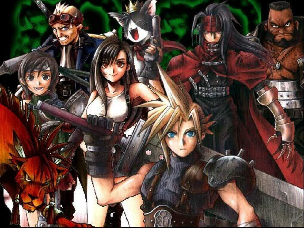 final fantasy 7 characters pictures final fantasy free