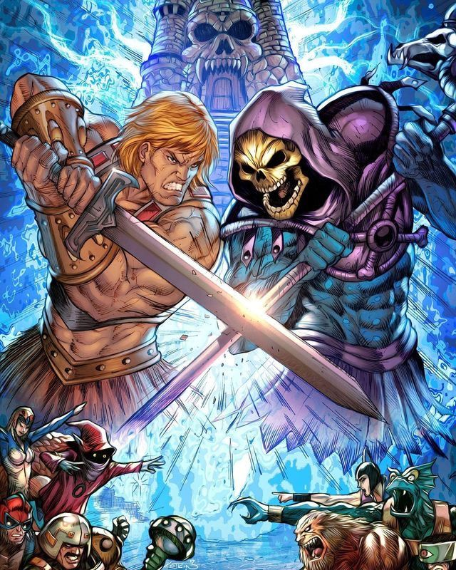 Pin by BlazingBlade on Masters of The Universe | 80s ...