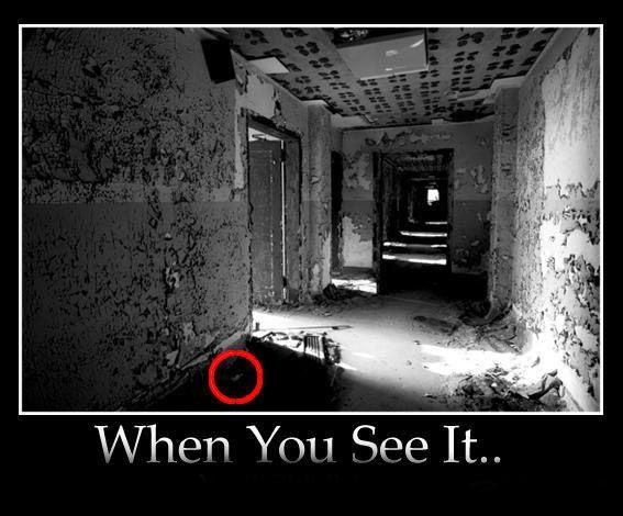 When You See It Circled Omg so creepy!! Hint: ...