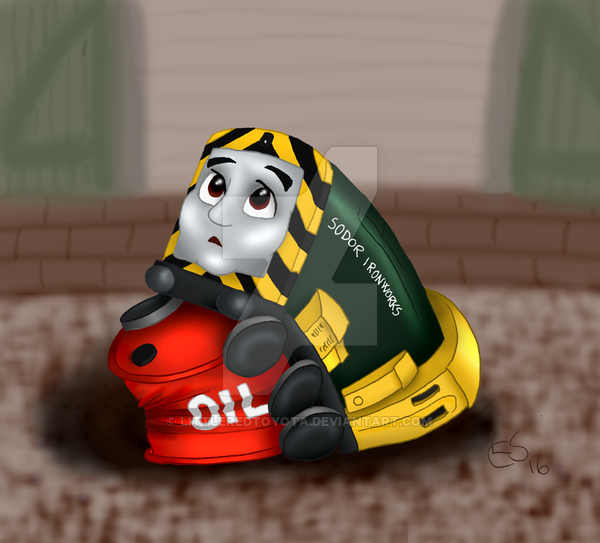 Baby Arry By Https Www Deviantart Com Littleredtoyota On Deviantart Thomas The Tank Engine Thomas And Friends Thomas The Tank