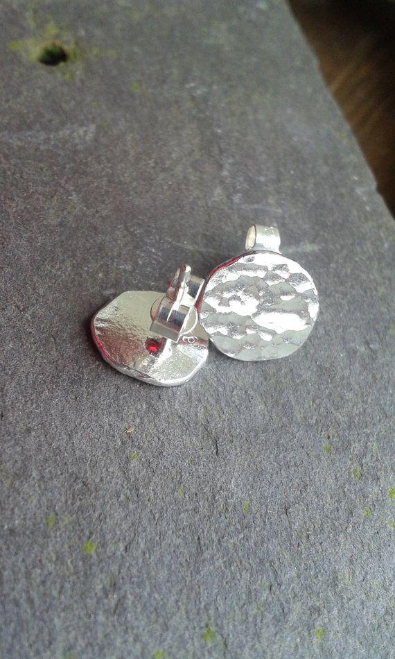 Pretty Handmade 925 Sterling Silver Studs /  by OakanSilver
