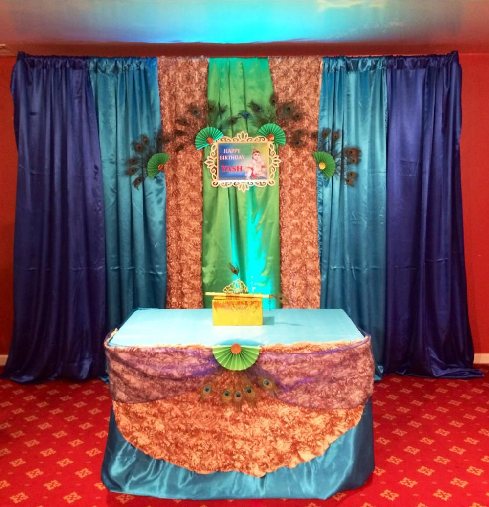 Krishna Theme Little Magic Events Gallery #wedding
