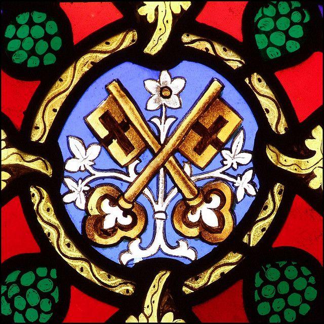 St Peter Hoxne Suffolk Pinterest Symbols Monograms And Saints