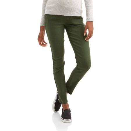 963836e885c Oh! Mamma Maternity 5 Pocket Skinny Pants - Available in Plus Sizes -  Walmart.com