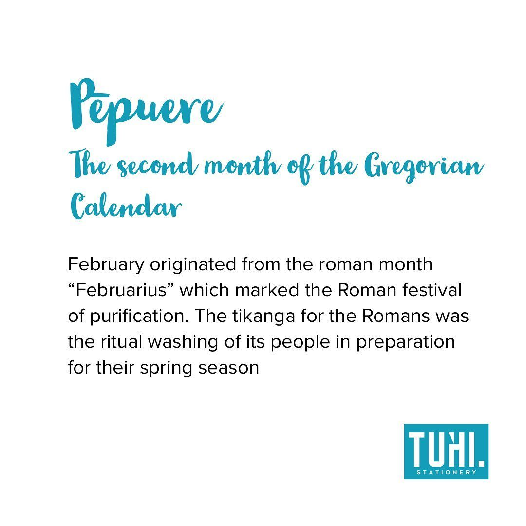 February Today Marks The Beginning Of The Second Gregorian Month The Whakapapa To This Is The Julian Calendar The One Before Gregorian Marking The Roma