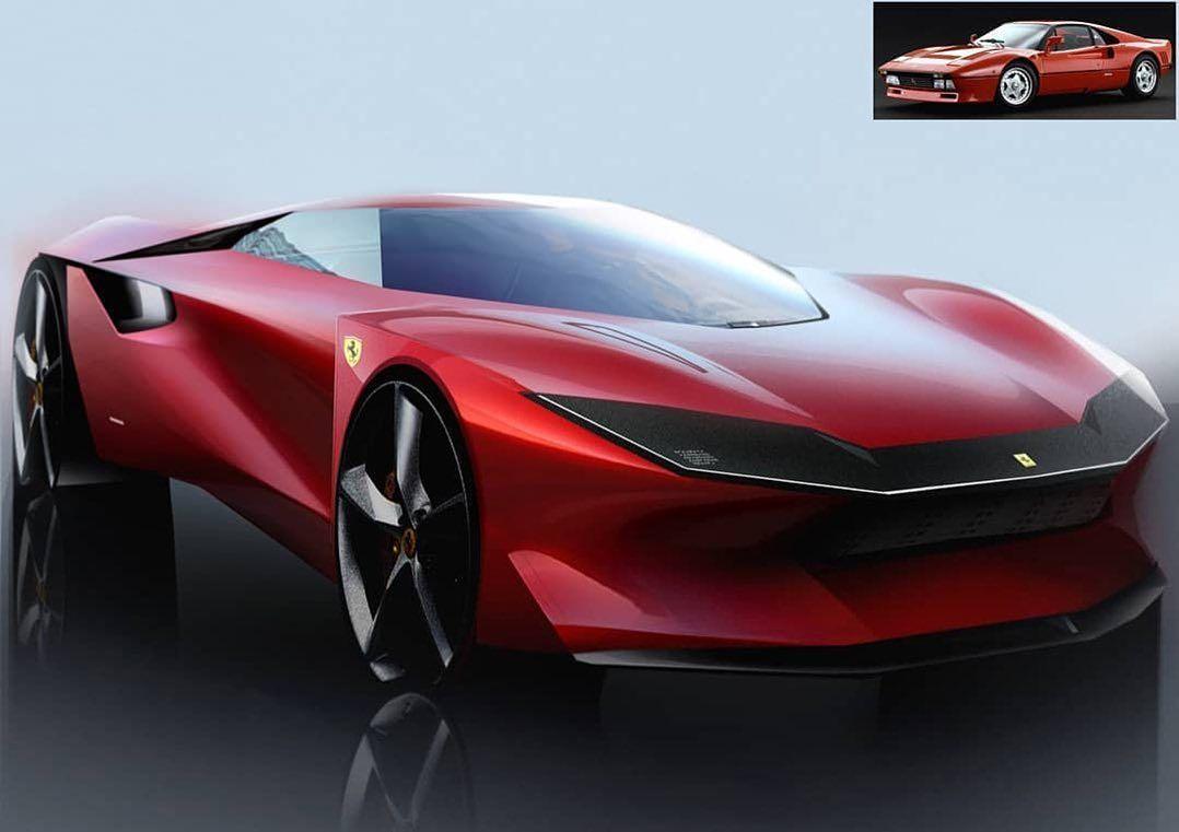 Some Sketches By Guo Zhiheng Guozhiheng977 Ferrari 288 Gto Homage Mazda Coupe Nissan Alfa Romeo Gt R Next Gen Ca Ferrari 288 Gto Mazda Concept Car Design