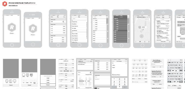 Top 50 free web ui kits templates for 2018 wireframe ui kit top 50 free web ui kits templates for 2018 toneelgroepblik Gallery