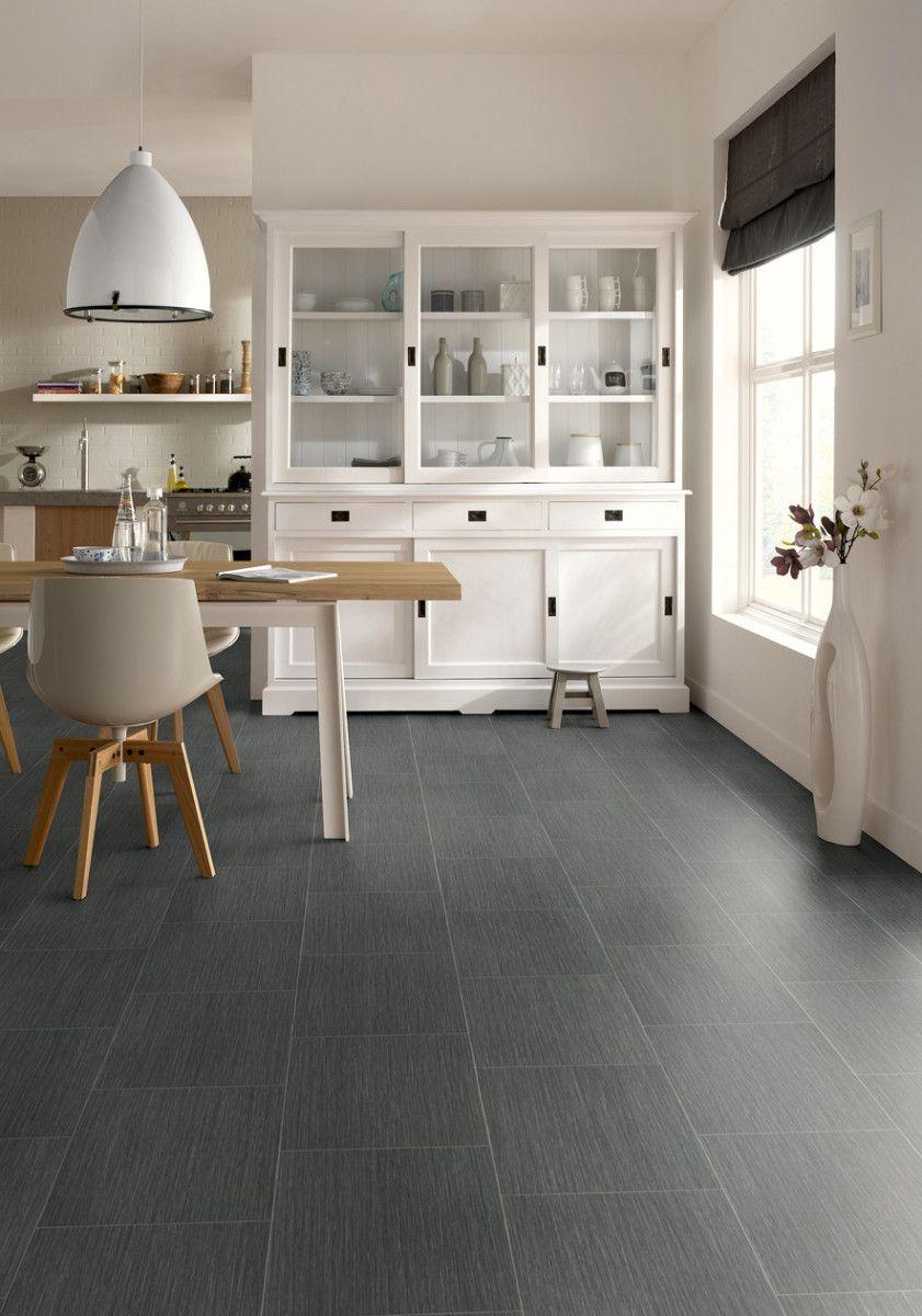 Novilon viva steen design zwart modern 5809