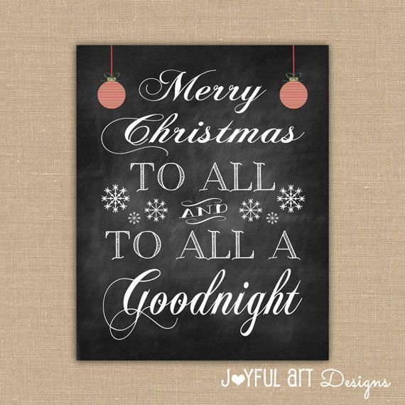 merry christmas to all and to all a goodnight by joyfulartdesigns 600 - Merry Christmas To All And To All A Good Night