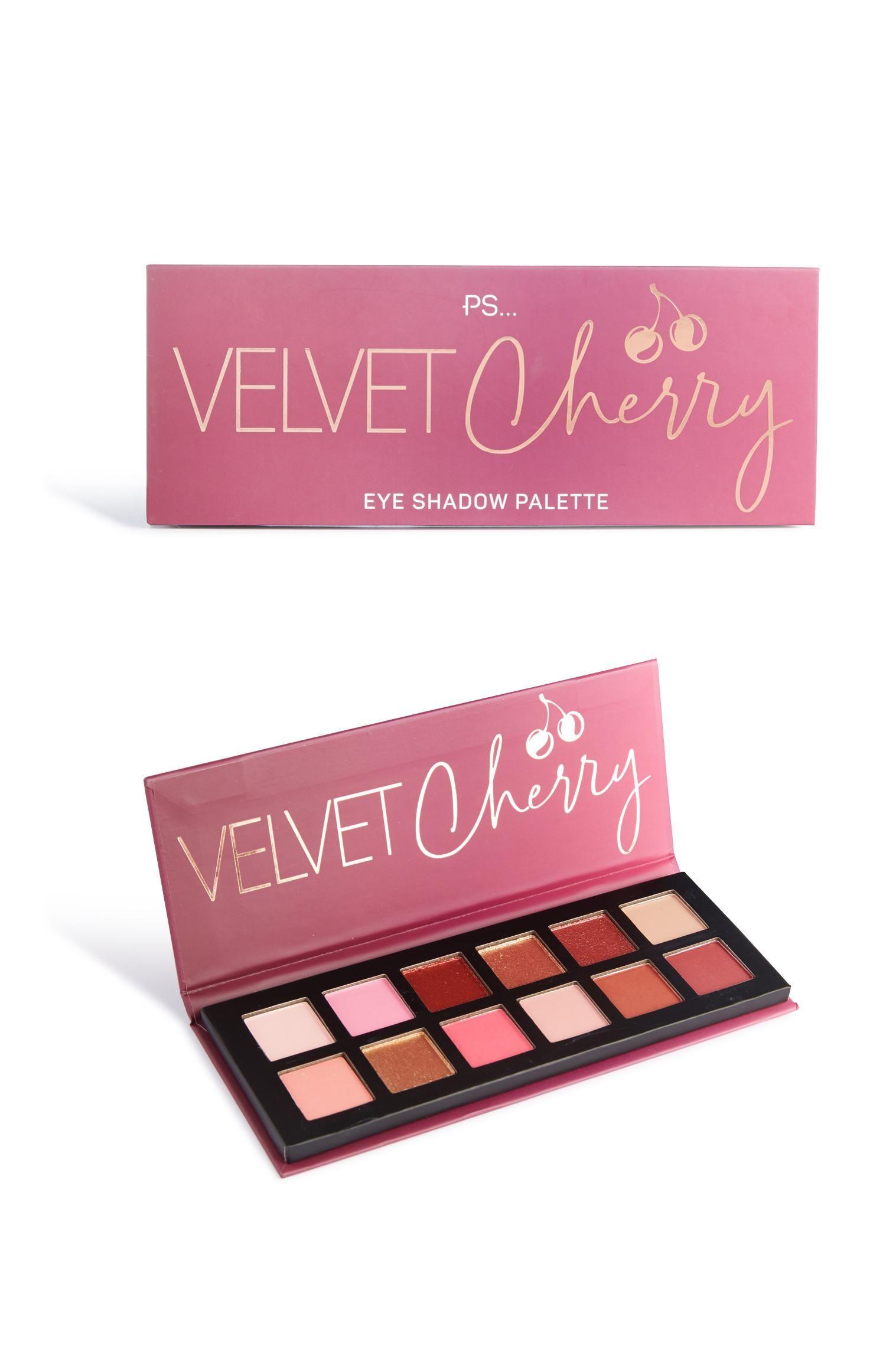 Primark Velvet Cherry Eye Shadow Palette Eyeshadow Eyeshadow Palette Shadow Palette