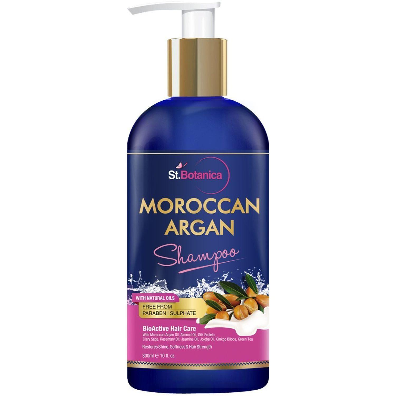 St.Botanica Moroccan Argan Hair Shampoo Paraben Free(300ml