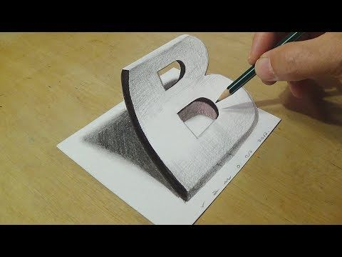 Drawing Goldfish on Lined Paper - How to Draw Goldfish for Kids - 3D