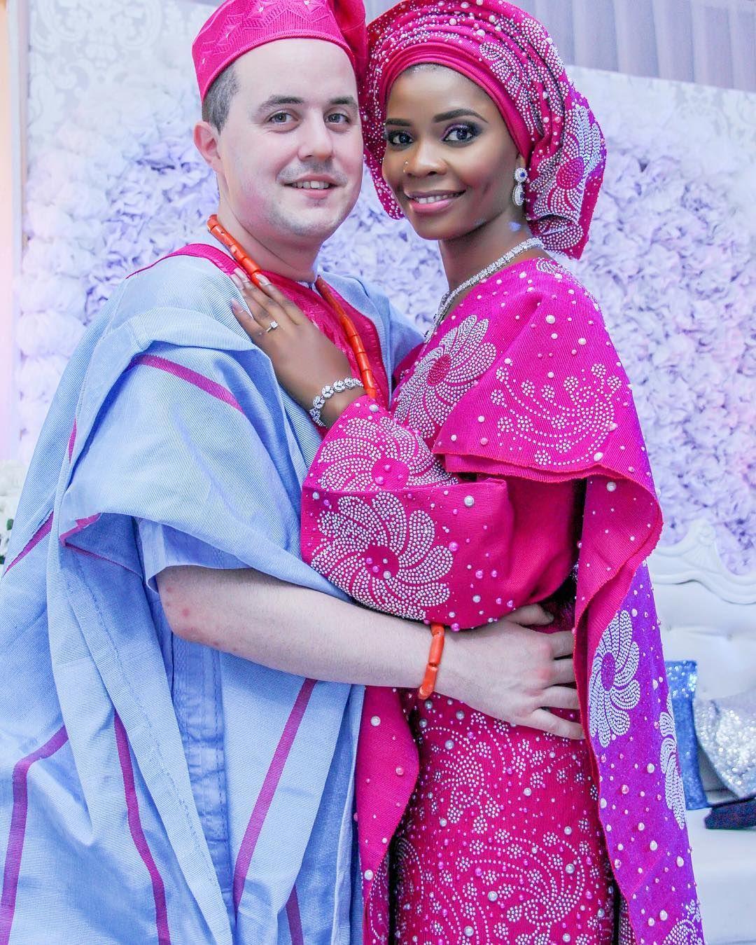 💖 Lola and Liam 💖 #Lolaliam2016 @loolanicole #BellaNaijaWeddings | African  wedding attire, Traditional wedding attire, African print fashion dresses