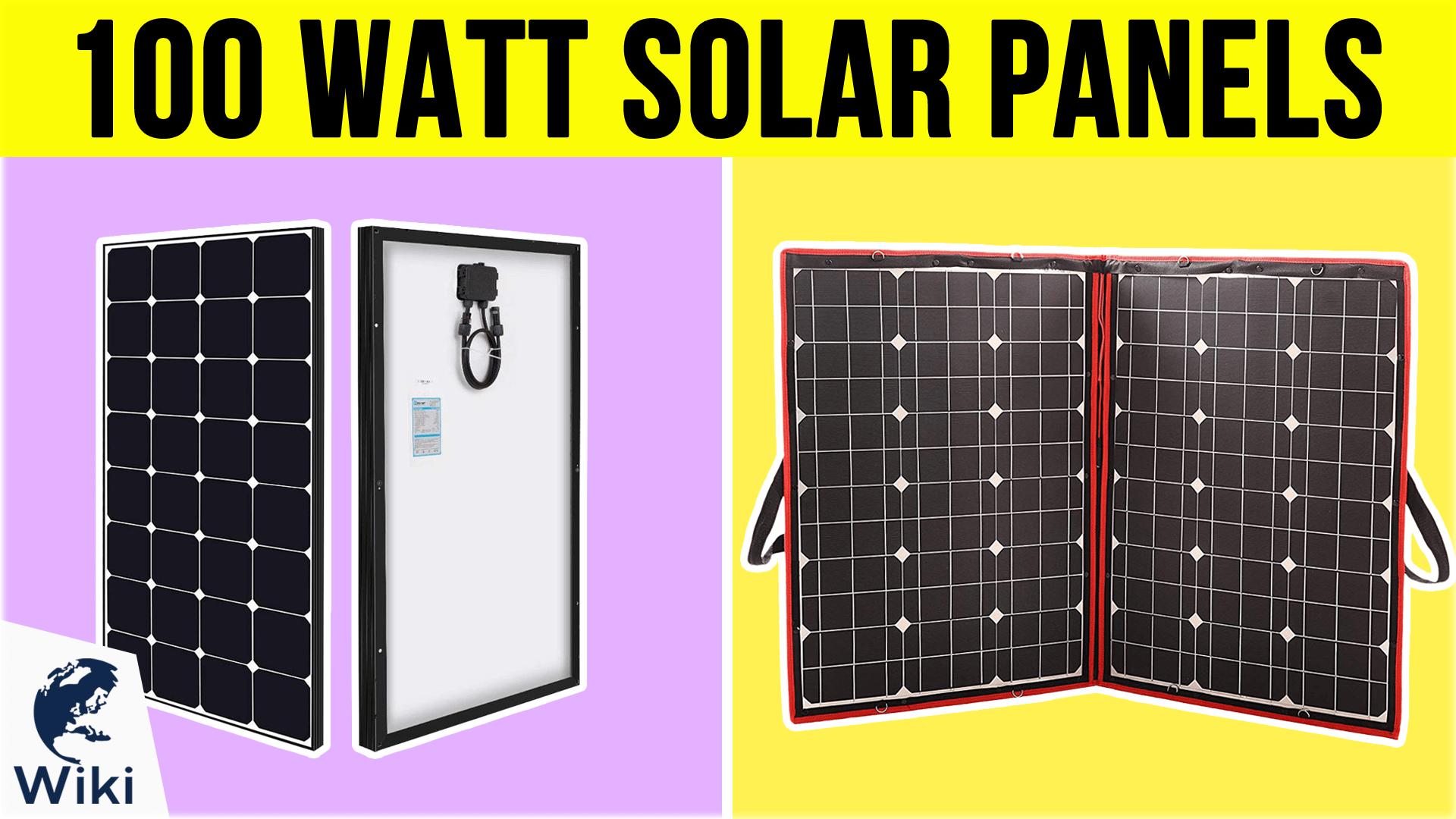 Komaes 100 Watt 12v 24v Monocrystalline Portable Folding Solar Panel Suitcase With Energy Efficient Technology Includes Pwm Solar Panels Roof Solar Panel Solar