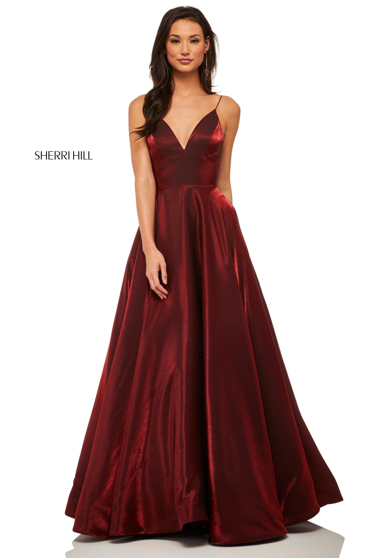 Sherri Hill 52424 Dress Sherri Hill Prom Dresses Prom Dresses Metallic Prom Dresses [ 3000 x 2000 Pixel ]