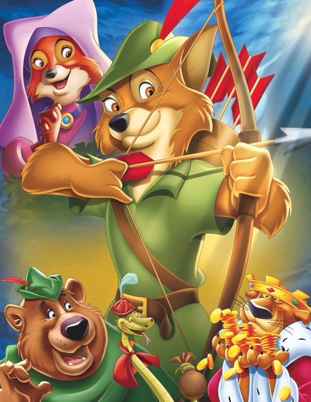 Cartoon Characters Hood Version : Robin hood still the best version ever stuff on