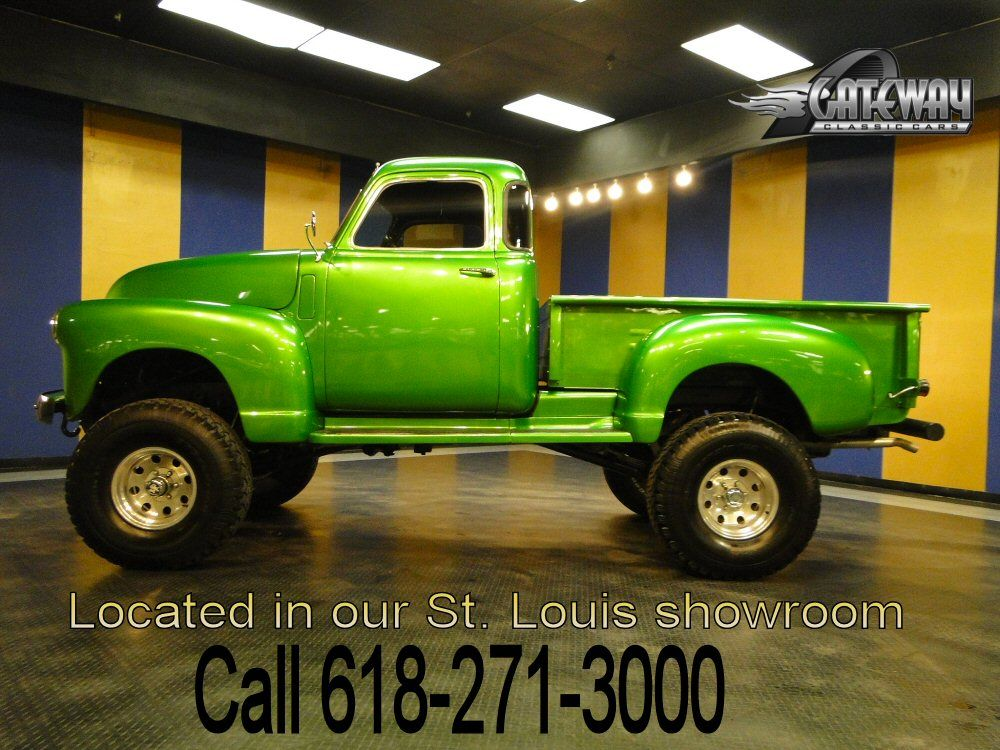 Vintage 4x4 for Sale | 1954 Chevrolet Pickup 4x4 for Sale - Gateway ...