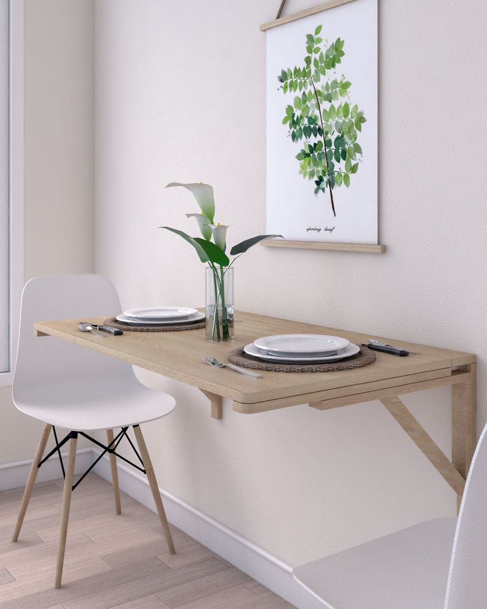 10 Creative Wall Table Ideas for Small Spaces