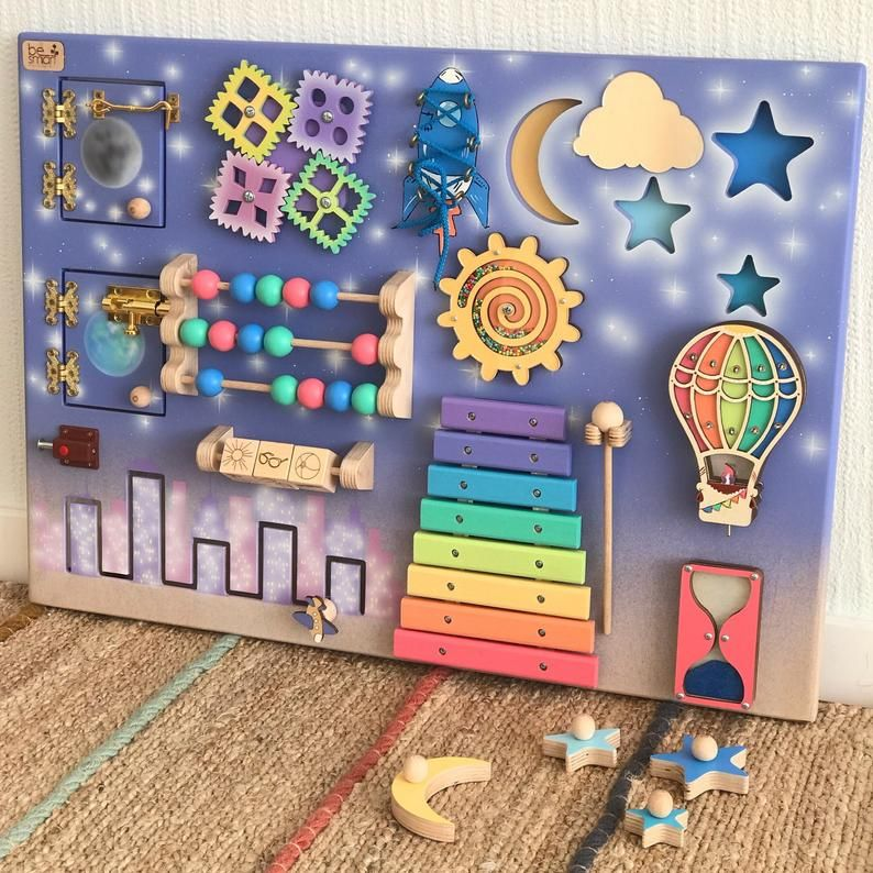 Toddler Busy Board Activity Board For Toddler Busyboard Montessori
