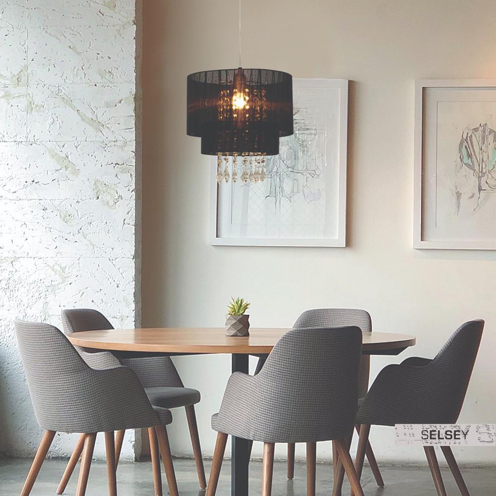 Lampa Wiszaca Bennett Czarna Srednica 30 Cm W 2019 Oswietlenie Meble Oswietlenie I Lampy
